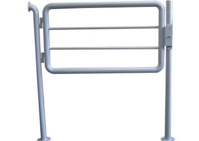 Gate-with-elmagnet